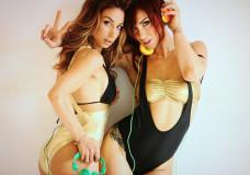 Lori Fabrizio and Valeria Nova on Shooting Skin 01
